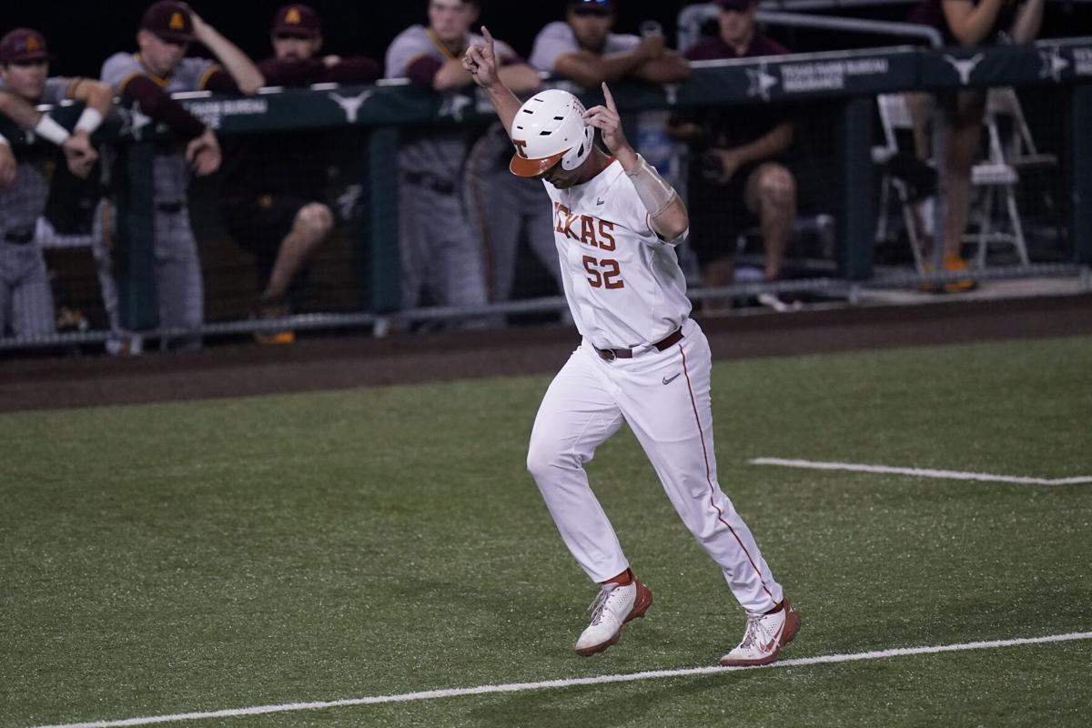 Texas beat Arizona State owing to Zach Zubia's Home Run