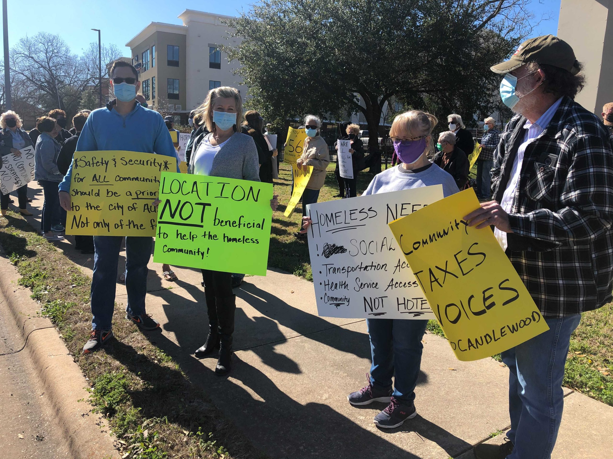 Williamson County Has Threatened To Sue An Austin Hotel That Provides Shelter For Homeless People