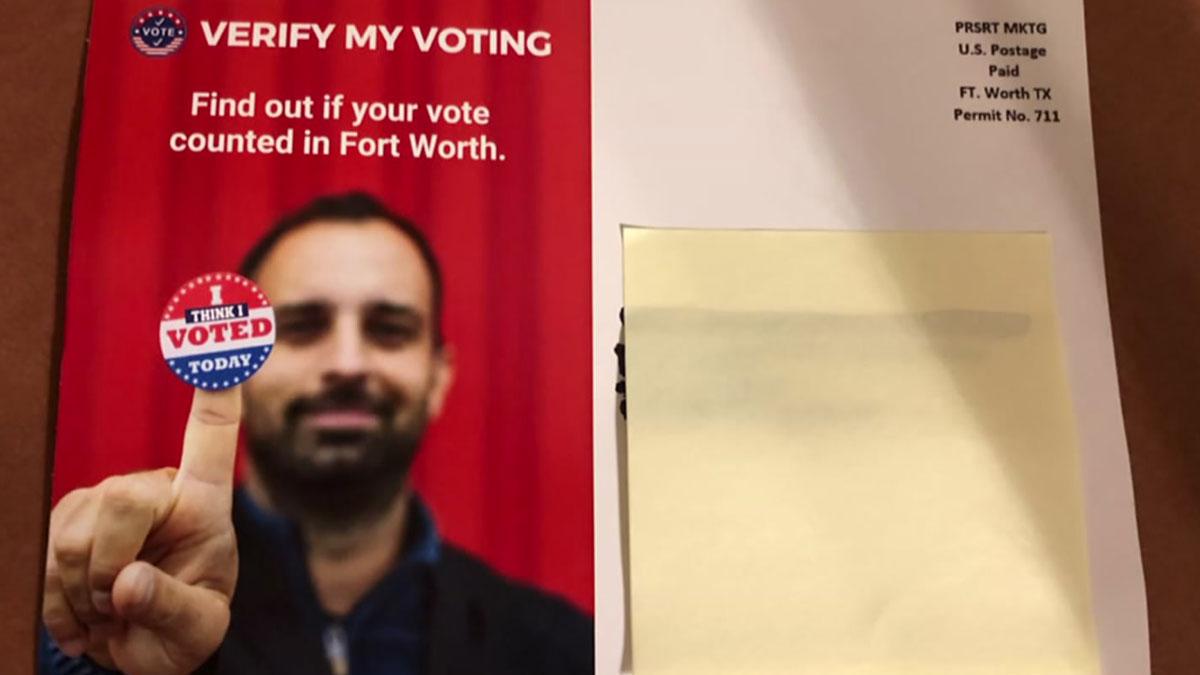"""""""Verify"""" Votes"""