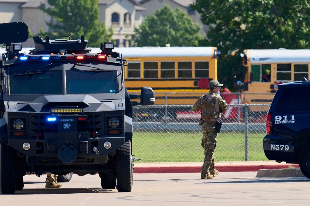 Arlington School Shooting Leaves 4 Injured and Suspect in Custody
